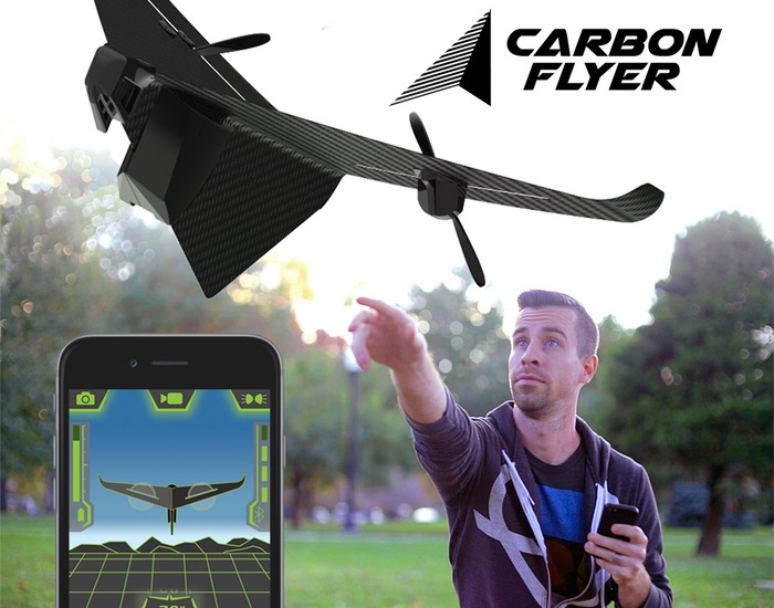 Carbon Flyer video drone