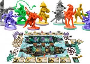 Rum And Bones CoolMiniOrNot Pirate Board Game Hits Kickstarter (video)