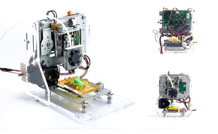 E-Waste 3D Printer Created For Less Than $100 Using Old PC Parts