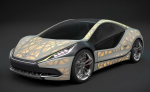 EDAG Light Cocoon Car With 3D Printed Skeleton Under Development