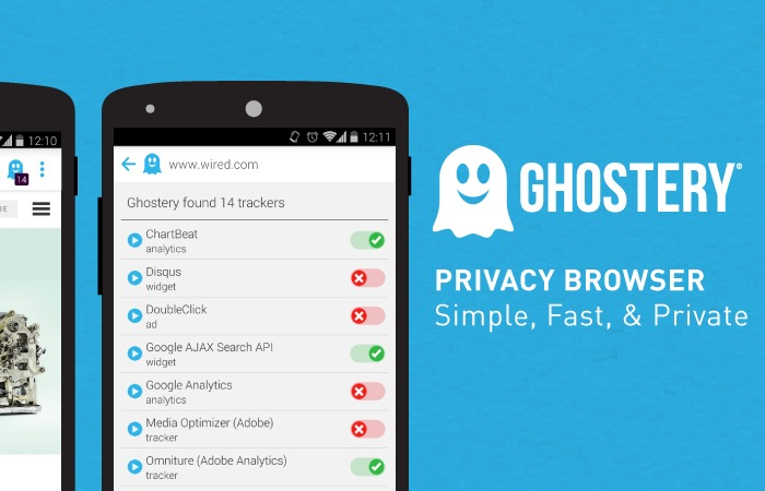 Ghostery Browser for Android