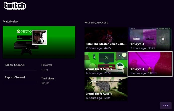New Twitch Xbox One App