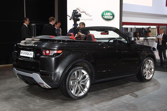 Range Rover Evoque Convertible2