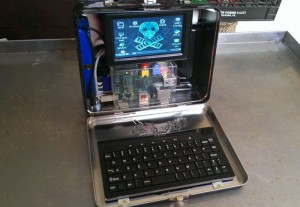Raspberry Pi Lunchbox Laptop Computer (video)