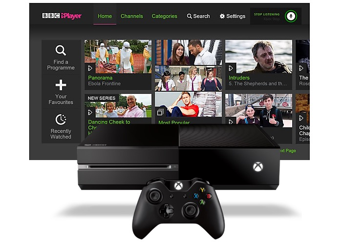 Xbox One iPlayer App