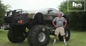 Man hacks DeLoreans into Monster Truck and More