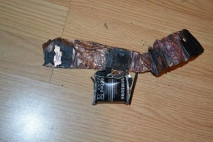 Samsung Galaxy Ace 2 Exploded And Caught Fire