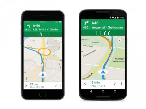 Google Introduces Highway Lange Guidance for Several European Countries in Google Maps