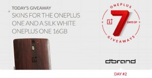 OnePlus Announced 7 Days of Giveaways, Offers Free Stuff Through Contest