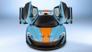 McLaren P1 wearing Gulf Livery is a One of a Kind