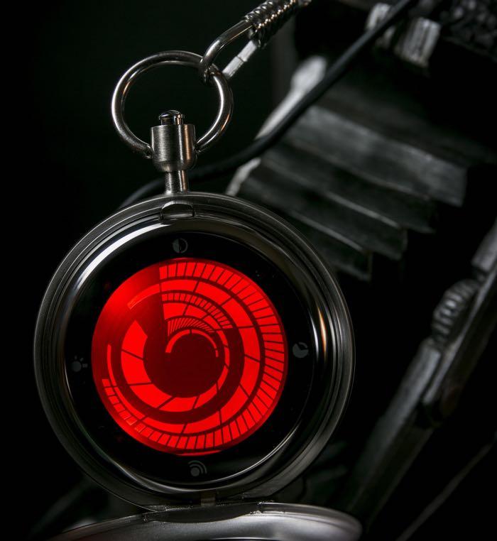 Tokyoflash kisai vortex pocket watch video for Vortix watches