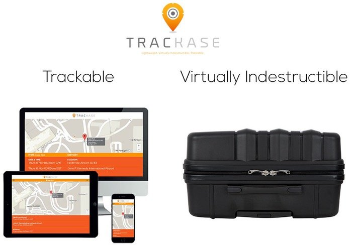trackable Luggage