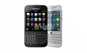 White BlackBerry Classic Leaked