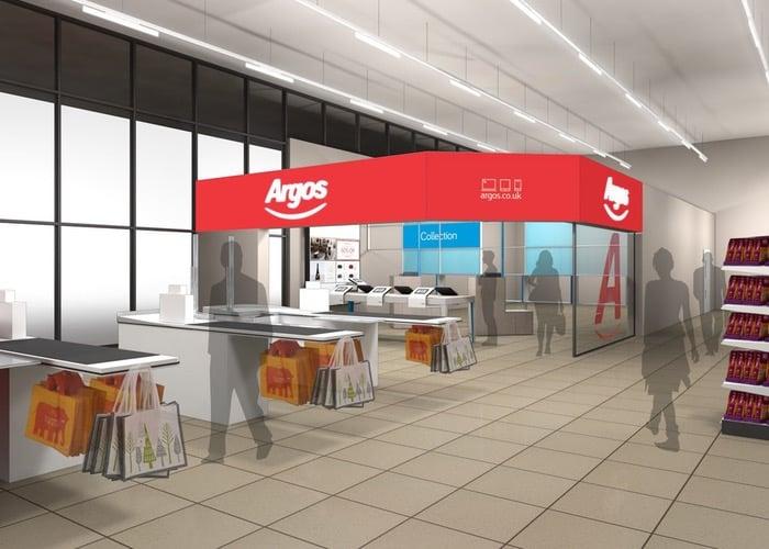 Argos Opening Digital Stores Within UK Sainsbury SuperMarkets