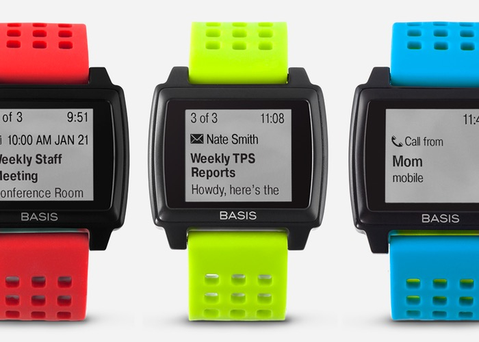 Basis Peak fitness watch