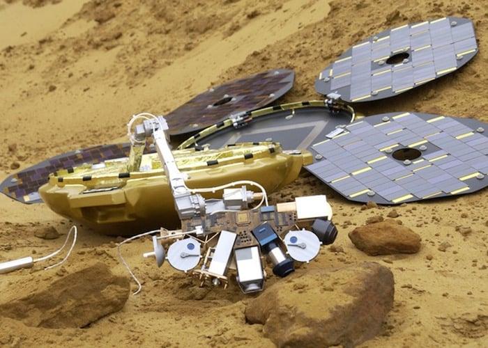 Beagle 2 Mars Probe Re-Discovered
