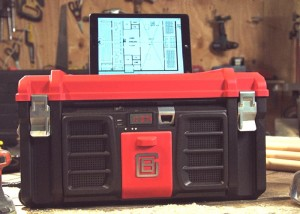 Coolbox Toolbox Includes USB Charger, Speakers, Whiteboard And More (video)