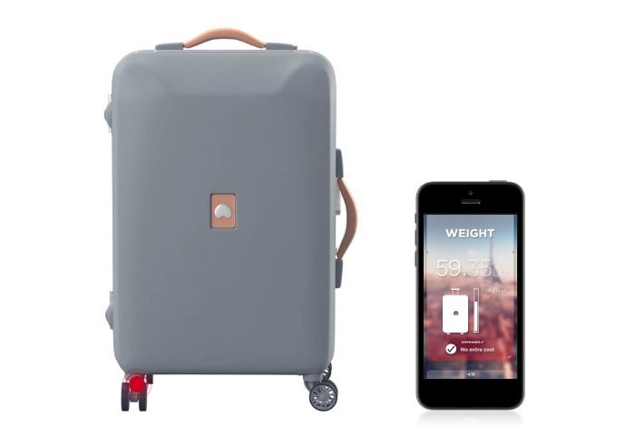 Delsey Pluggage Smart Luggage Weighs Itself, Forecasts The Weather ...