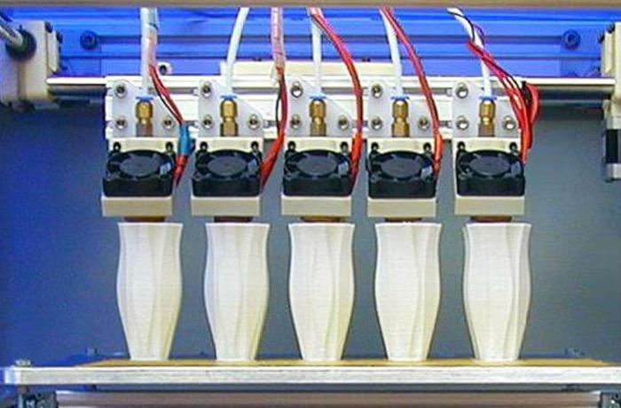 Digitrax MH5 5 Extruder 3D Printer