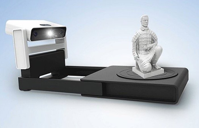 shining 3d einscan s 3d scanner unveiled at ces 2015. Black Bedroom Furniture Sets. Home Design Ideas