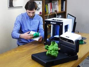 EinScan-S White Light 3D Scanner Launches On Kickstarter From $799 (video)