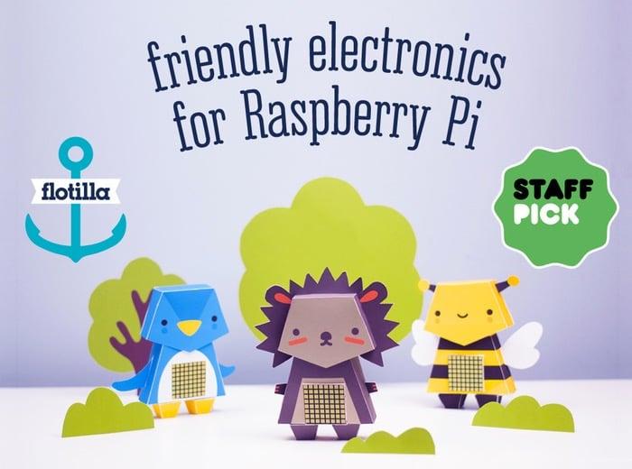 Flotilla For Raspberry Pi