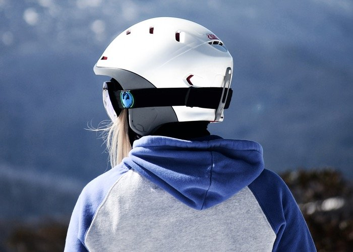Forcite Alpine Ski Helmet Is Equipped With Camera And Communication Systems (video)