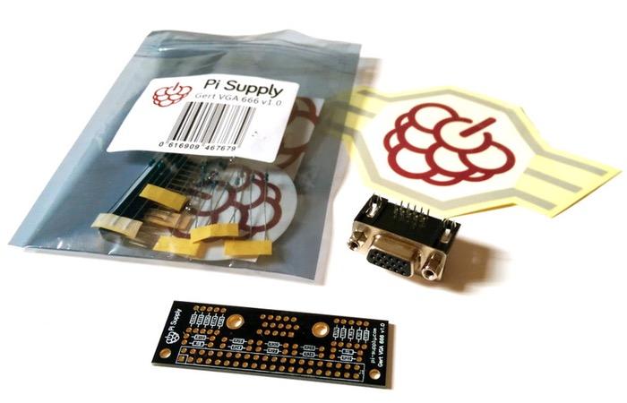 Gert VGA 666 Adapter For Raspberry Pi