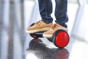 SoloWheel Hovertrax Two Wheel Self Balancing Vehicle $995 (video)