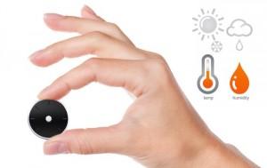 Tempi Smart Temperature And Humidity Monitor (video)