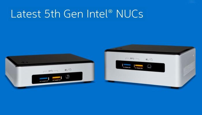 Intel NUC Mini PC Range