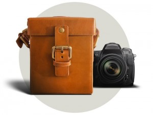 CamCarry Luxury Italian Leather Camera Case (video)