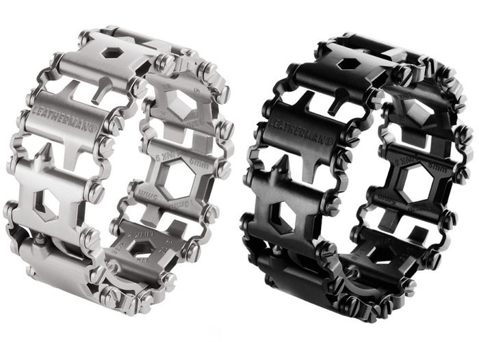 The Tread multitool from Leatherman is made like a fashion-forward bracelet