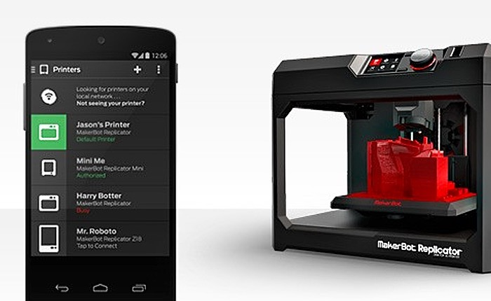MakerBot Mobile Android App