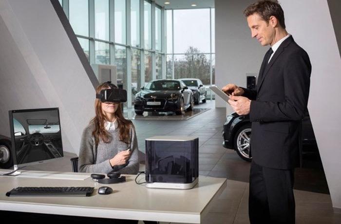 Oculus Rift Audi VR