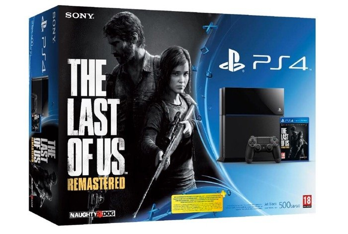 PS4 The Last Of Us Remastered Bundle