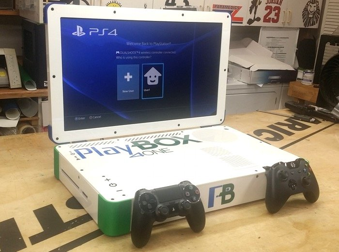 PlayBox Combines Xbox One And PS4 Consoles In One (video)