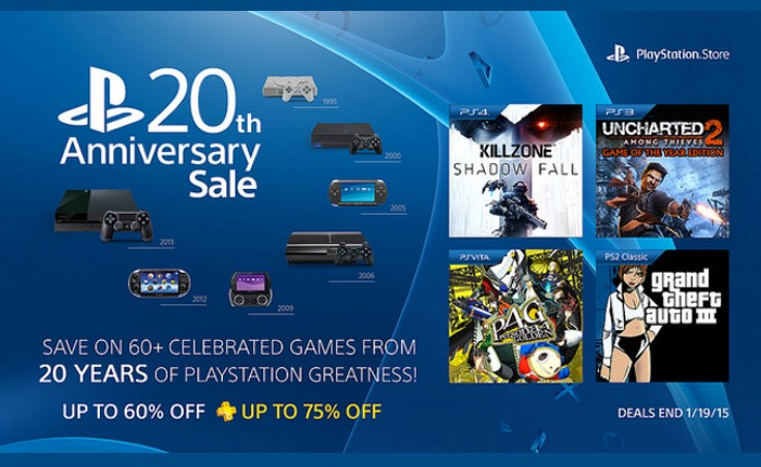 PlayStation Anniversary Sale