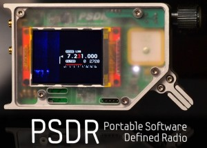 PSDR Portable Software Defined Radio (video)