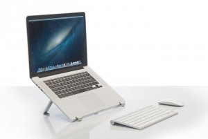 SUAS Minimalist Portable Stand For MacBooks And Tablets (Video)
