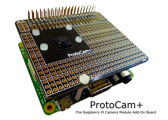 Raspberry Pi Camera Module Add-On Board