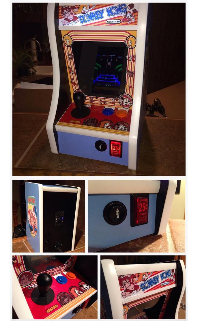 Raspberry Pi Desktop Donkey Kong Arcade