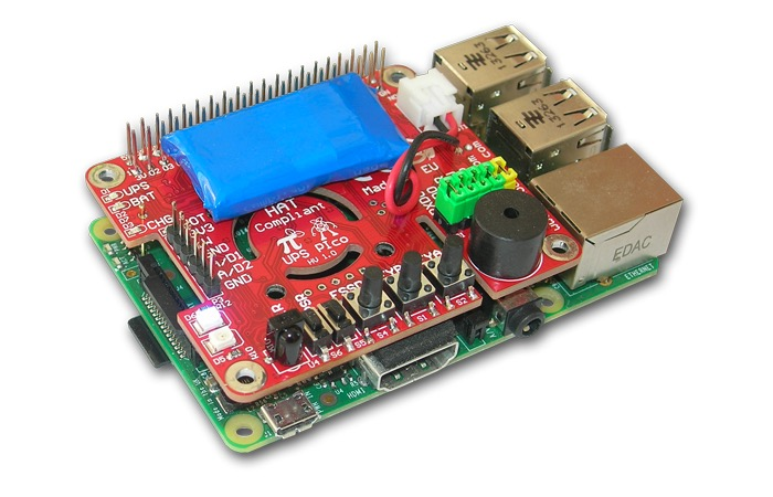 Raspberry Pi Uninterruptible Power Supply