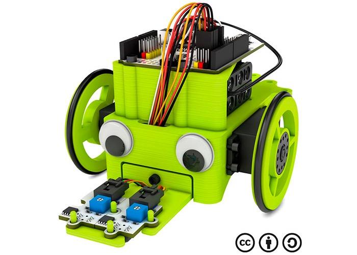 Robot 3d printed-1
