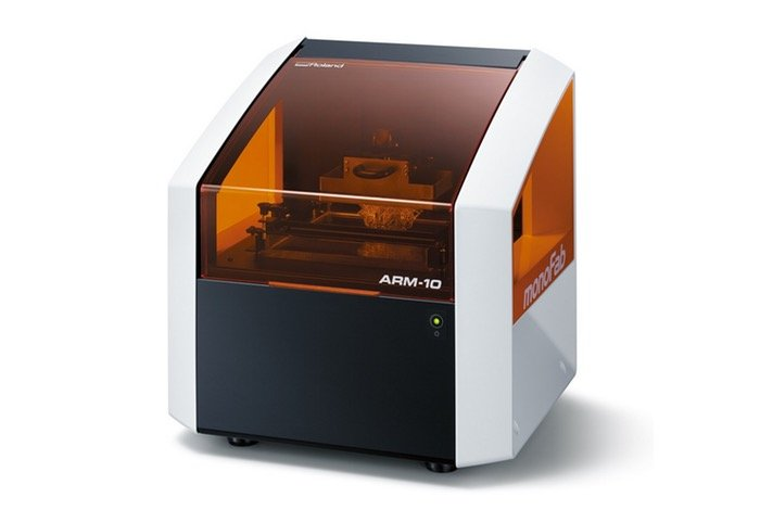 Roland ARM-10 DLP Resin 3D Printer And Roland SRM-20 Milling Machine