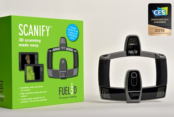 Fuel3D SCANIFY 3D Scanner Captures Scans In 1/10 Of A Second