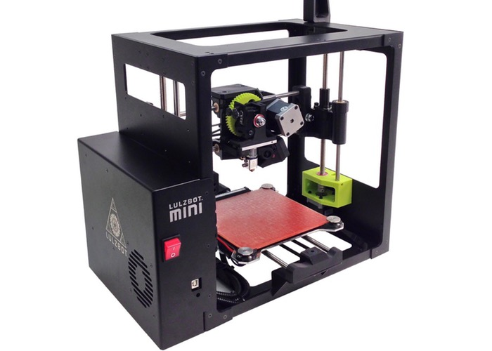 LulzBot Mini Self-Levelling 3D Printer Launches At CES 2015 (video)