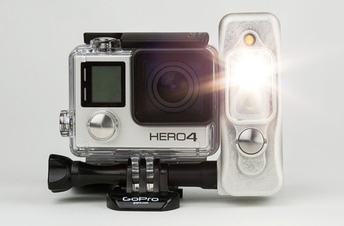 Sidekick GoPro Mounted Light
