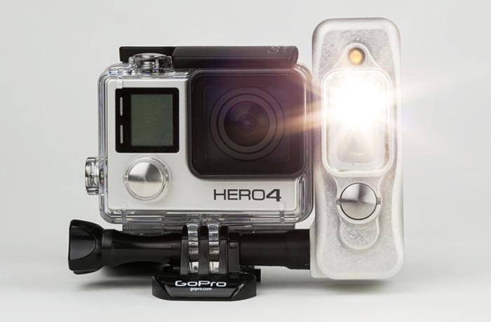 Sidekick GoPro Mounted Light