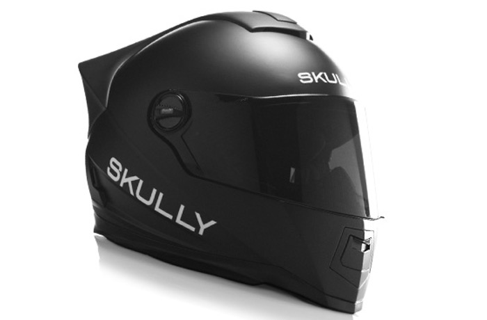Skully smart motorcycle helmet